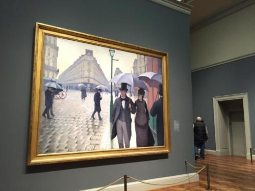 """Paris Street; Rainy Day"" by Gustave Caillebotte (1877)"