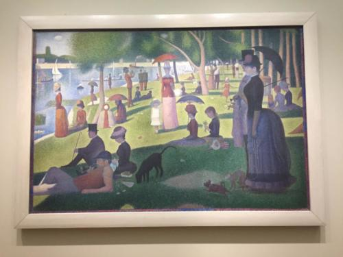 """A Sunday Afternoon on The Island of La Grande Jatte"" by Georges Seurat (1884-1886)"